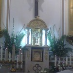Jesús Sacramentado, expuesto para su adoración perpetua